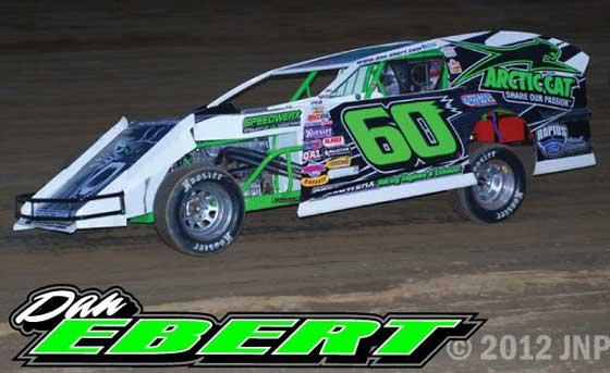 Dan Ebert, the dirt track racer