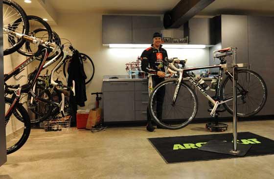 Tucker's Bike Room