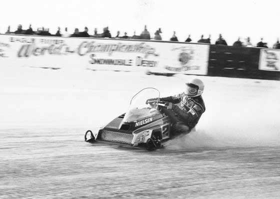 Jim Dimmerman aboard the Phantom in 1983, photo: CJ Ramstad