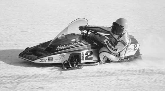 Jim Dimmerman aboard the Phantom in 1985, photo: CJ Ramstad