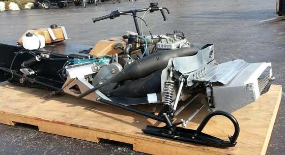 Jim Dimmerman's Phantom Sno Pro race sled will be restored for the 50th