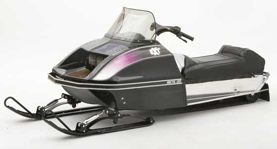 1972 Arctic Cat EXT owned by Ische Family, photo courtesy of ArcticInsider.com