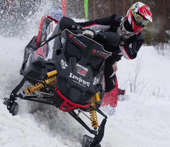 Team Arctic Cat racer Iisko Näkkäläjärvi of Finland