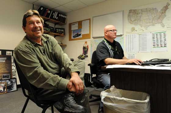 Brian Espeseth and Joey Hallstrom of Arctic Cat