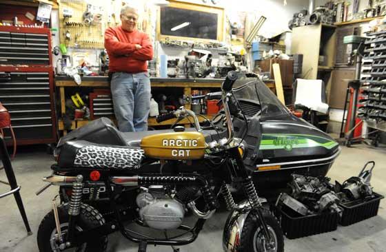 Inside John Anderson's shop
