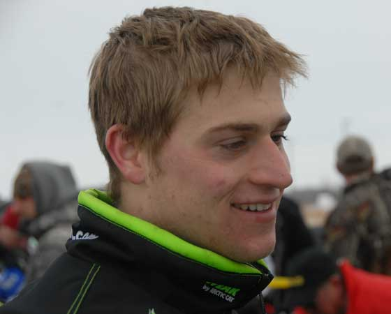 Team Arctic Cat's Dan Ebert