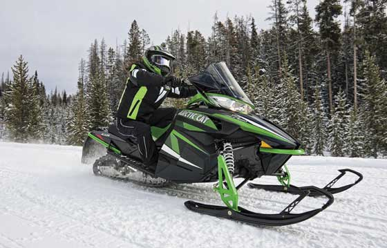 2013 Arctic Cat snowmobile trail permit promotion