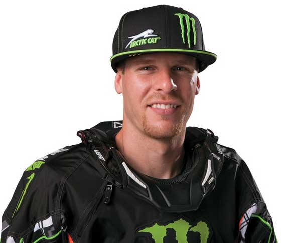 Tucker Hibbert, Team Monster/Arctic Cat