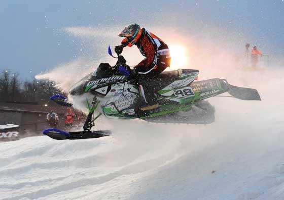 CBR - Arctic Cat racer Garth Kaufman, by ArcticInsider.com