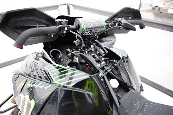 Tucker Hibbert's 2013 Arctic Cat Mod racer by ArcticInsider.com