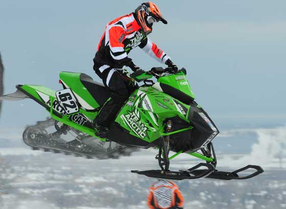 Factory Arctic Cat racer Cody Thomsen, by ArcticInsider.com