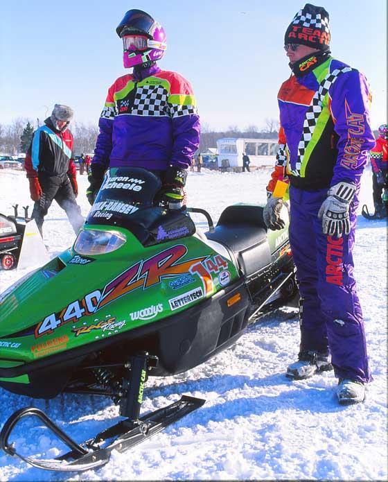 """Team Arctic Cat """"Iceman"""" Aaron Scheele"""