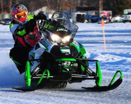 Brian Dick, Arctic Cat racer and engineer, photo: sledracer.com