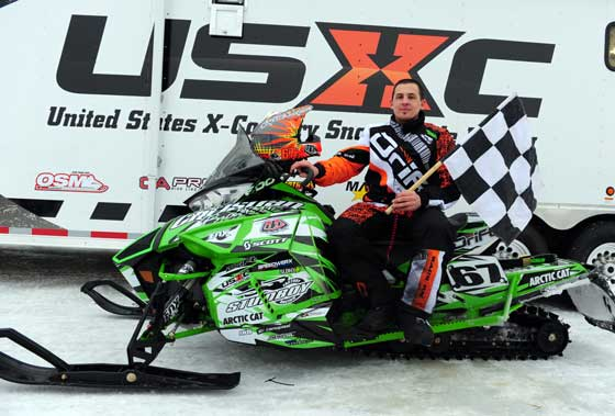 Team Arctic Cat & Christian Bros. Racing XC pro, Ryan Simons