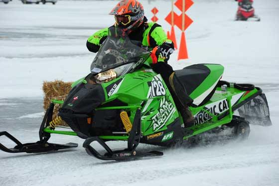 Team Arctic Cat racer Marty Feil