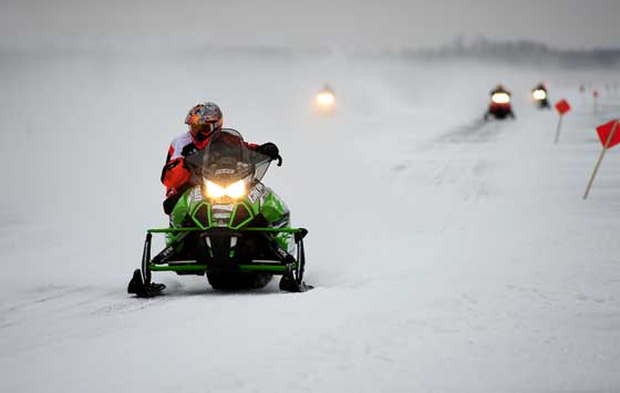 Team Arctic Cat CBR racer D.J. Ekre, photo by ArcticInsider.com