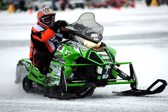 Team Arctic Cat's Ryan Simons, photo: ArcticInsider.com