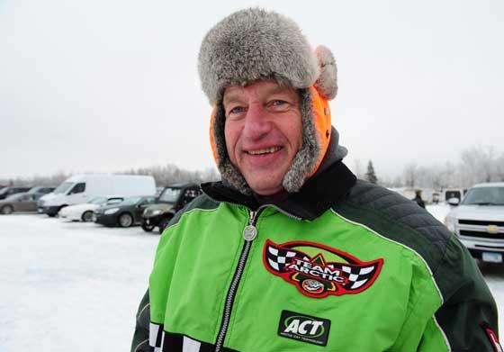 Arctic Cat dad, racer and volunteer Robert Johnson