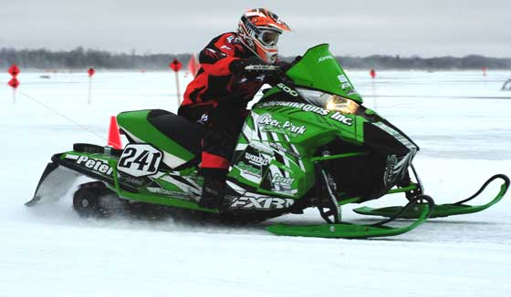 Team Arctic Cat racer Tyler Johnsrud. Photo: ArcticInsider.com