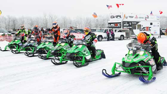 USXC 85 hp class with Arctic Cat Sno Pro 500s