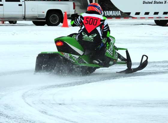 Team Arctic Cat racer Erik Nymann