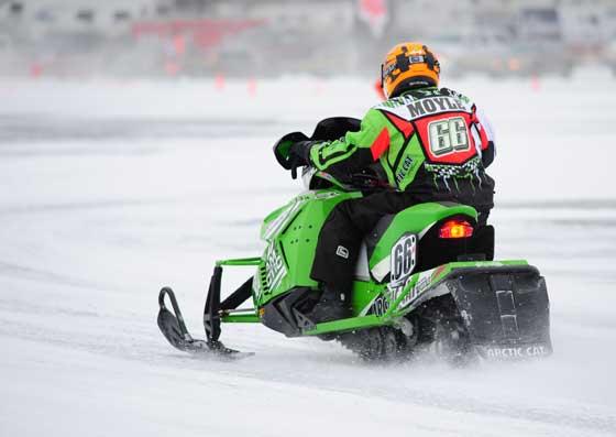Team Arctic Cat racer Gary Moyle. Photo by ArcticInsider.com