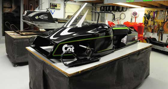Arctic Cat Sno Pro and Panther at Zedshed