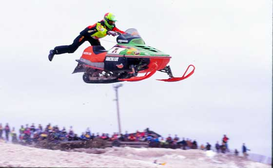 The original superman, Blair Morgan. Photo by ArcticInsider.com