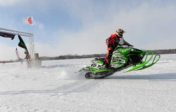 Team Arctic Cat racer Wes Selby. Photo by ArcticInsider.com