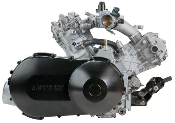 Arctic Cat 1000 V-Twin Engine