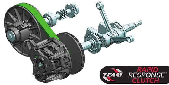New 2013.5 Wildcat Drive/Driven clutch combo by TEAM