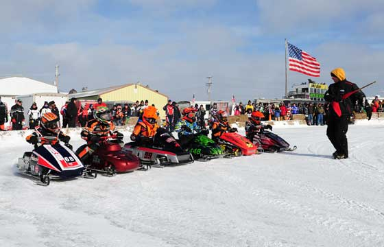 120 class racing at the Eagle River Derby
