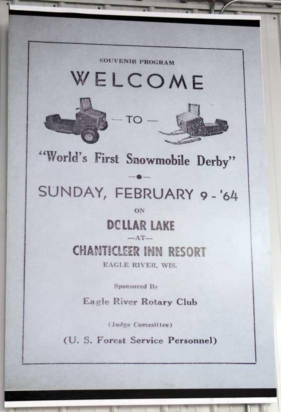 Eagle River World Championship Snowmobile Derby