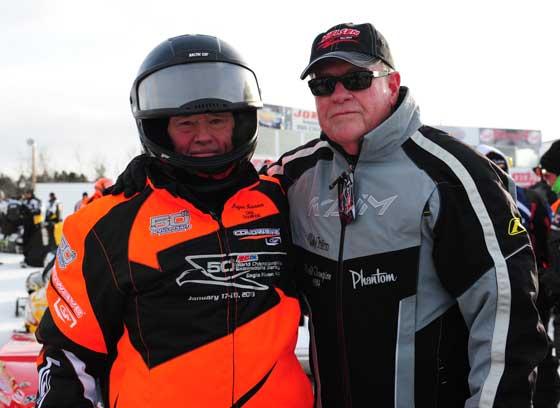 Roger Janssen and Ted Nielsen
