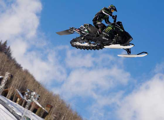 Tucker Hibbert six-peats at the ESPN X Games (photo by John Hanson)