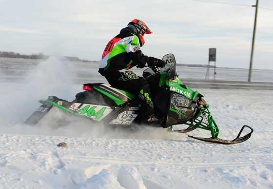 Team Arctic Cat's Cole Lian