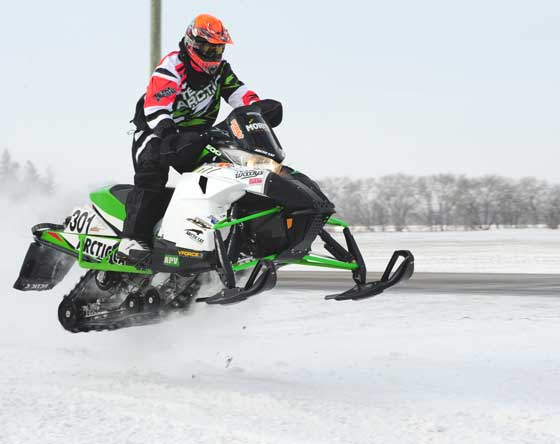 Team Arctic Cat racer Nathan Moritz, by ArcticInsider.com