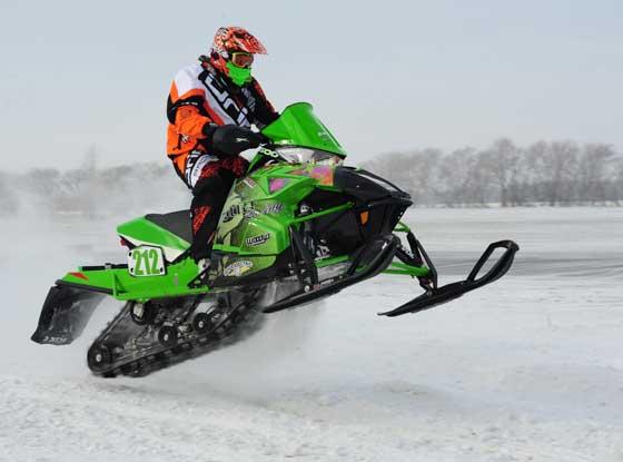Team Arctic Cat racer Erik Bute, by ArcticInsider.com