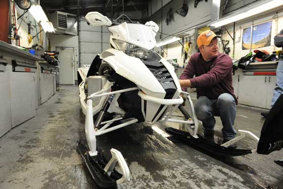Arctic Cat Engineer Gary Homme