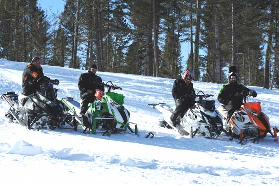 Arctic Cat test riders compare notes