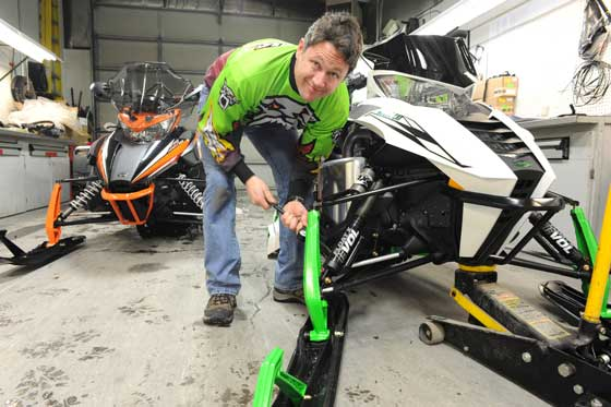 Arctic Cat Mountain Team Leader Troy Halvorson