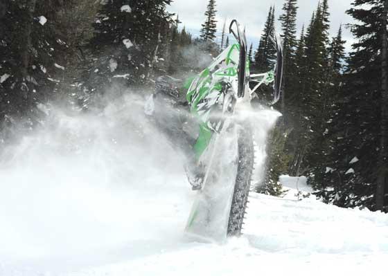 Arctic Cat Test Rider Robbie Stienmann