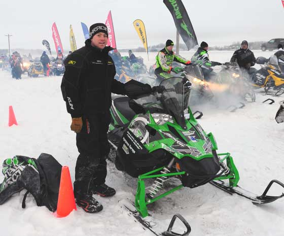Team Arctic Cat's Ryan Weidemann