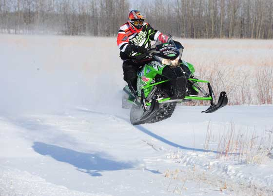 Brian Dick, Arctic Cat racer and engineer, photo: ArcticInsider.com