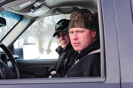 Team Arctic Cat's Roger Skime and Mike Kloety, photo by ArcticInsider.com