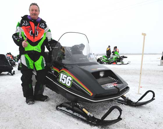 Team Arctic Cat great Doug Oster, photo by ArcticInsider.com