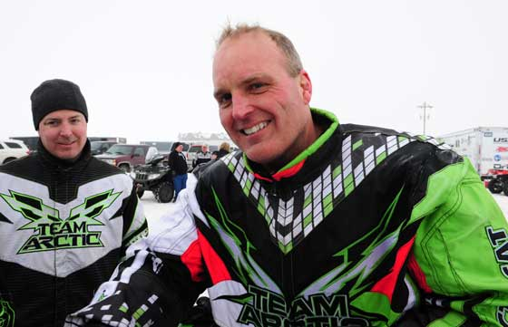 Team Arctic Cat's Jon Arneson won a class at the I-500, photo: ArcticInsider.com