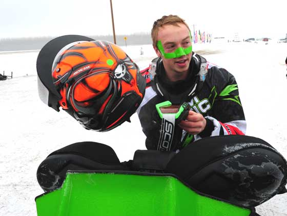 Team Arctic Cat racer Cody Kallock. Photo by ArcticInsider.com