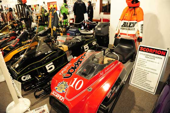 Snowmobile Hall of Fame in St. Germain, Wis.