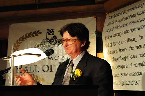 Norman Ball III at the 2013 SHOF Induction